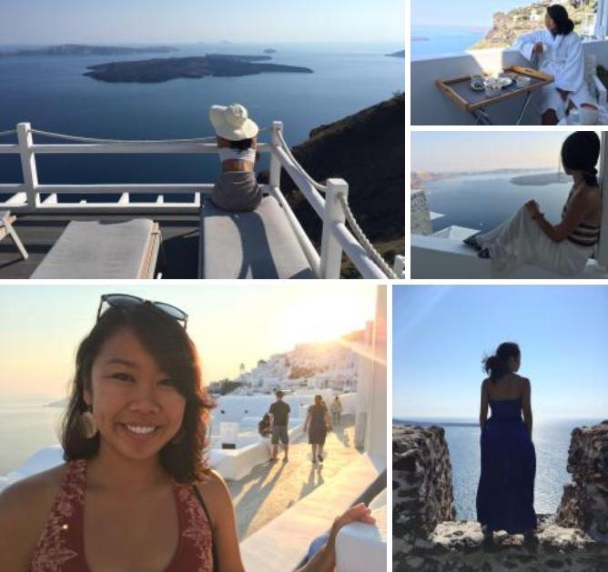 Where to Take Photos inSantorini